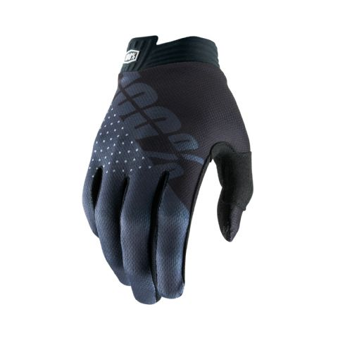 iTRACK 100% Glove Black/Charcoal Youth